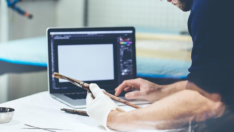 Adobe digitaliza y comparte los pinceles de 'El grito' de Munch 10