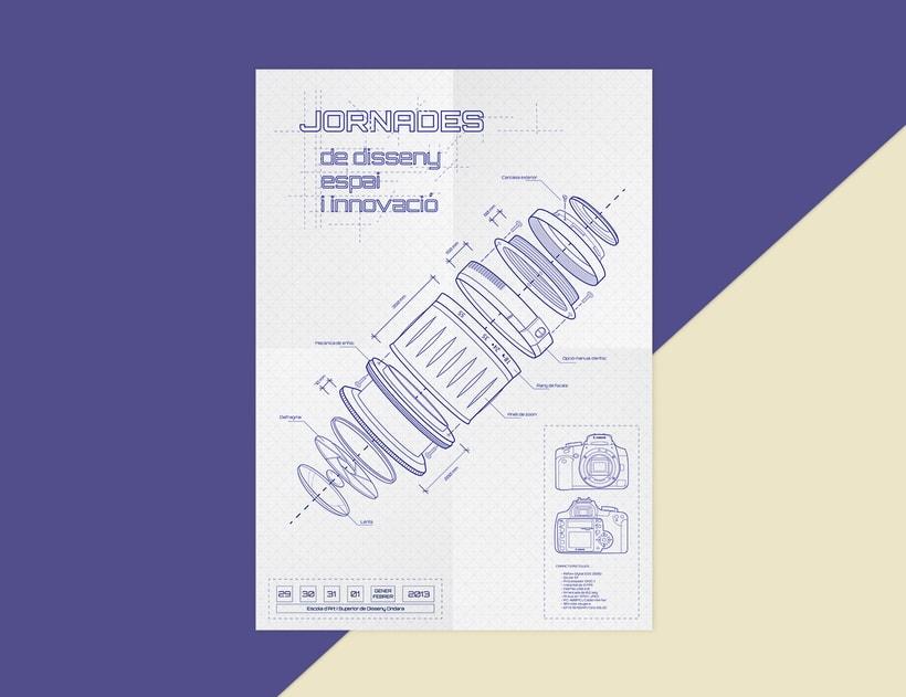 Cuadríptico Jornadas de diseño 1