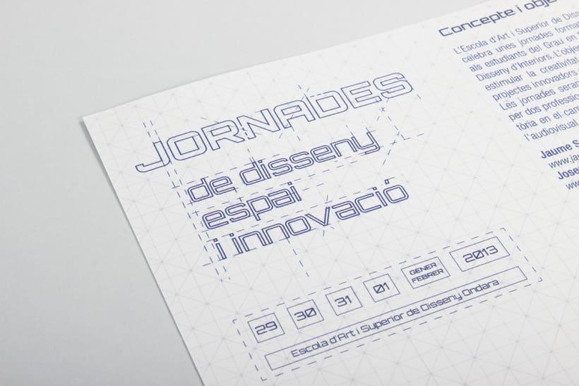 Cuadríptico Jornadas de diseño 3