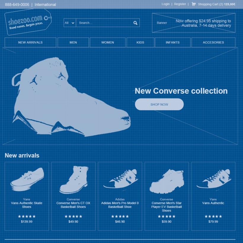 Shoezoo Ecommerce responsive 2
