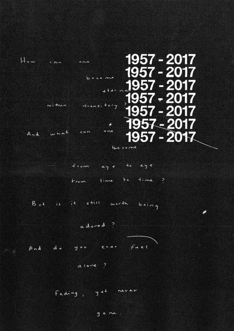 Feliz 60 cumpleaños, Helvetica 16