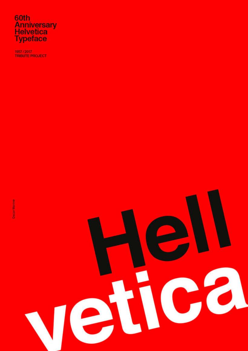 Feliz 60 cumpleaños, Helvetica 24