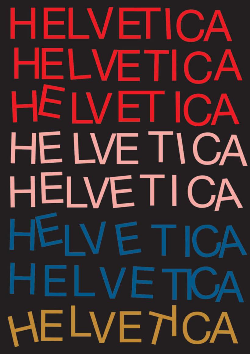 Feliz 60 cumpleaños, Helvetica 34