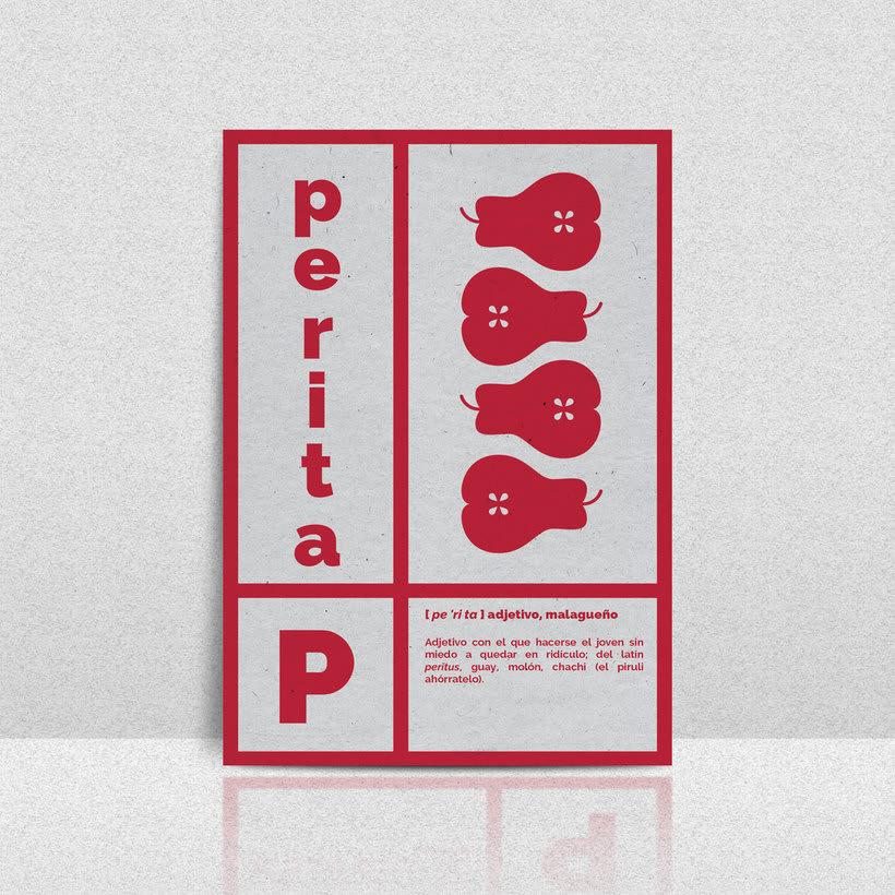 Vocabulario de Málaga - Set de postales 4