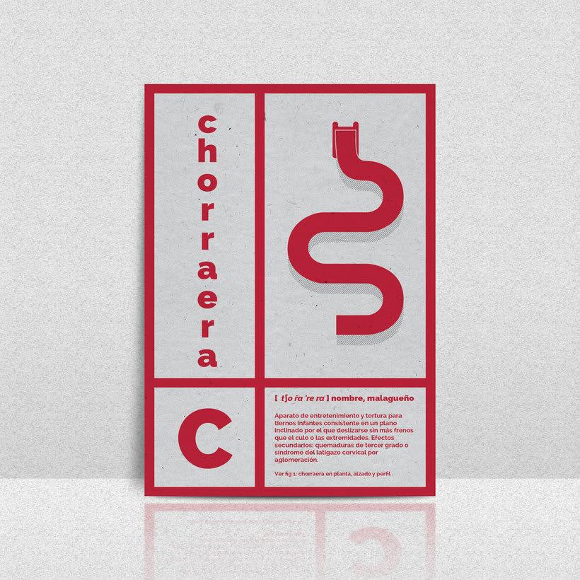 Vocabulario de Málaga - Set de postales 2