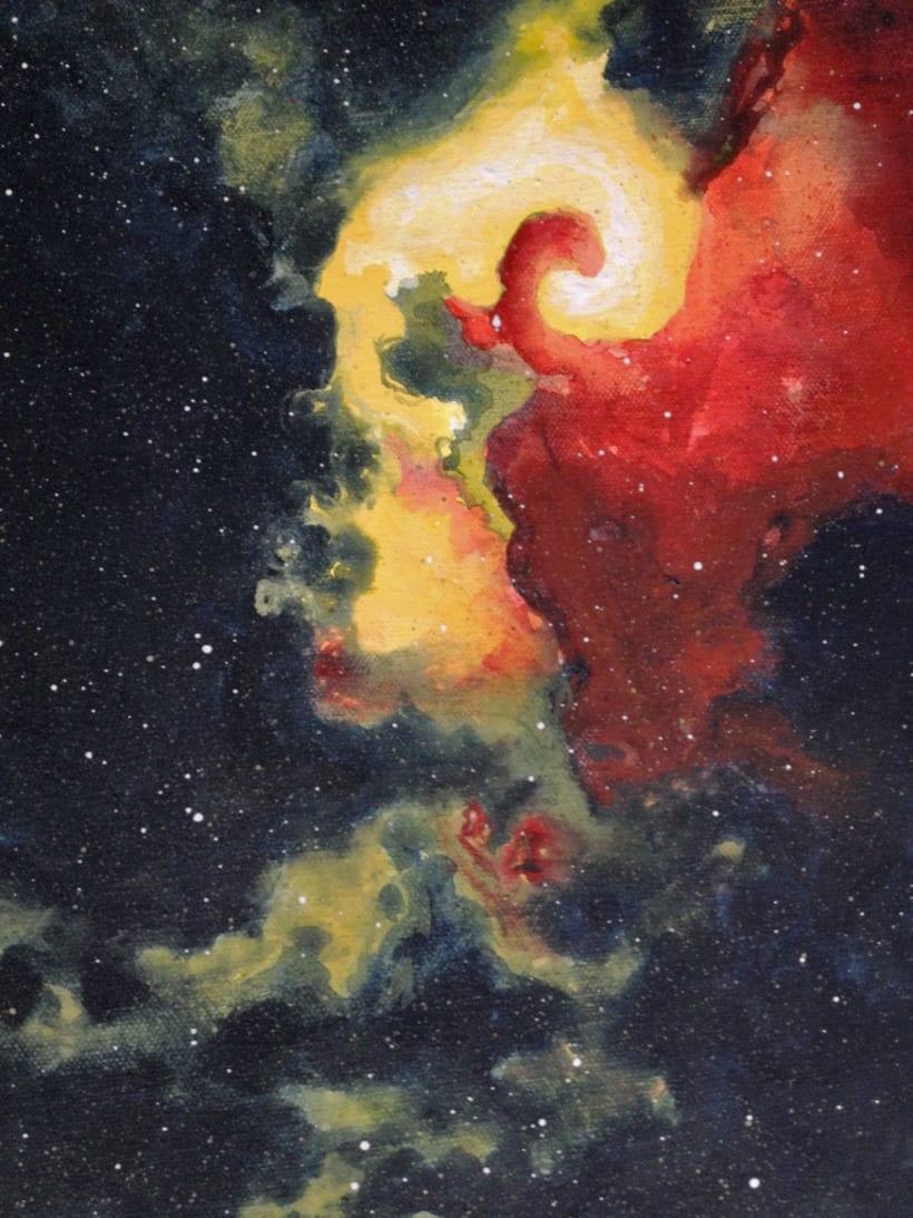 """Colección """"Nebulas"""" / Pintura 1"""
