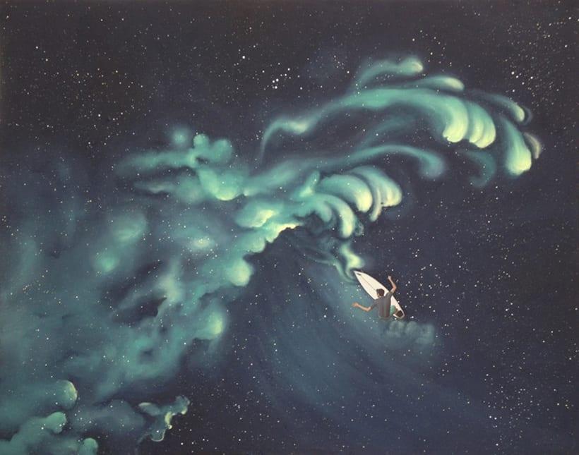 """Colección """"Nebulas"""" / Pintura 2"""