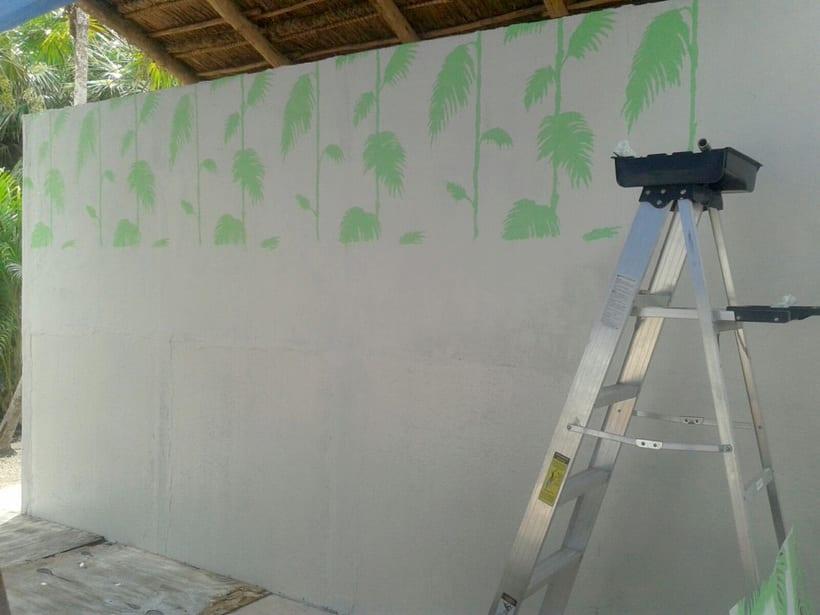 Safari Tulum / Pintura Mural -1