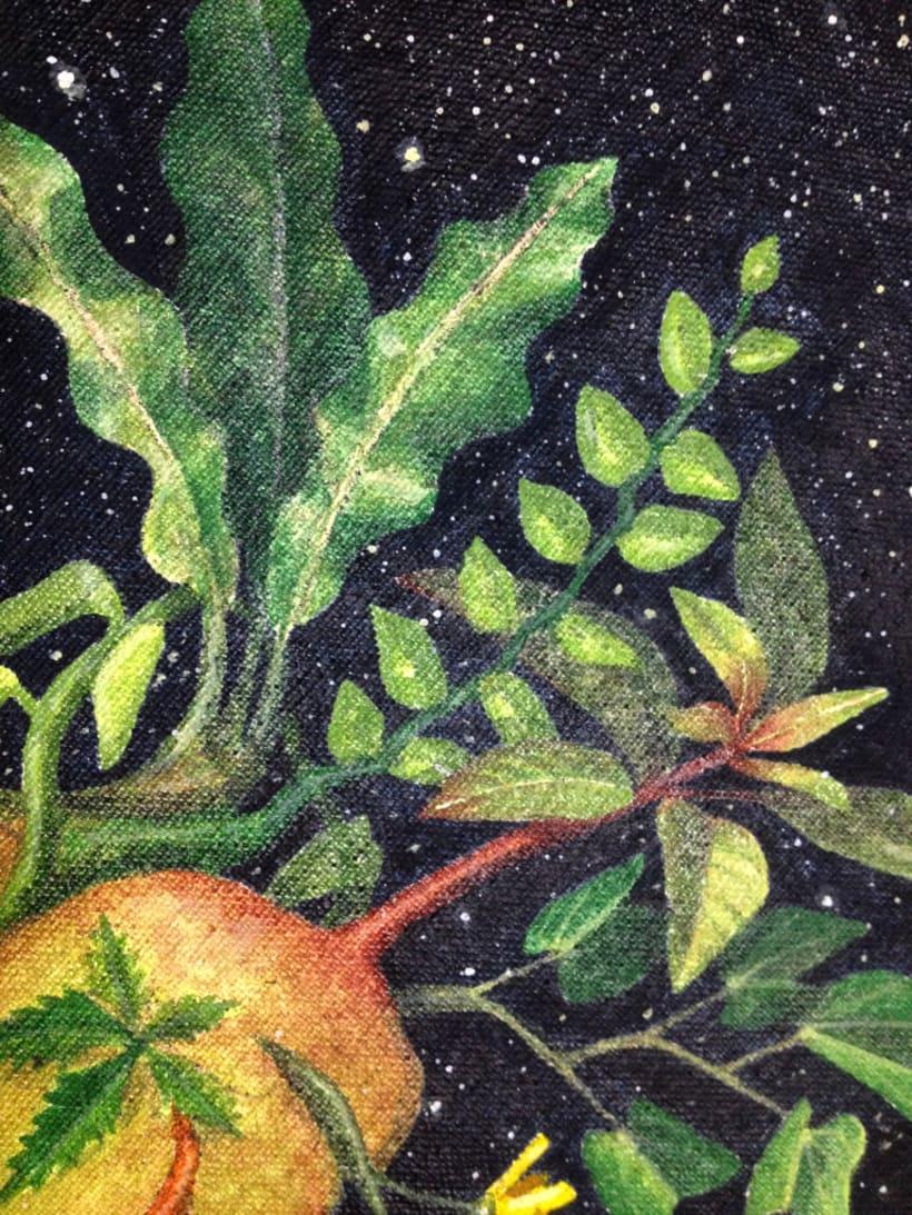 Corazón verde / Pintura 1