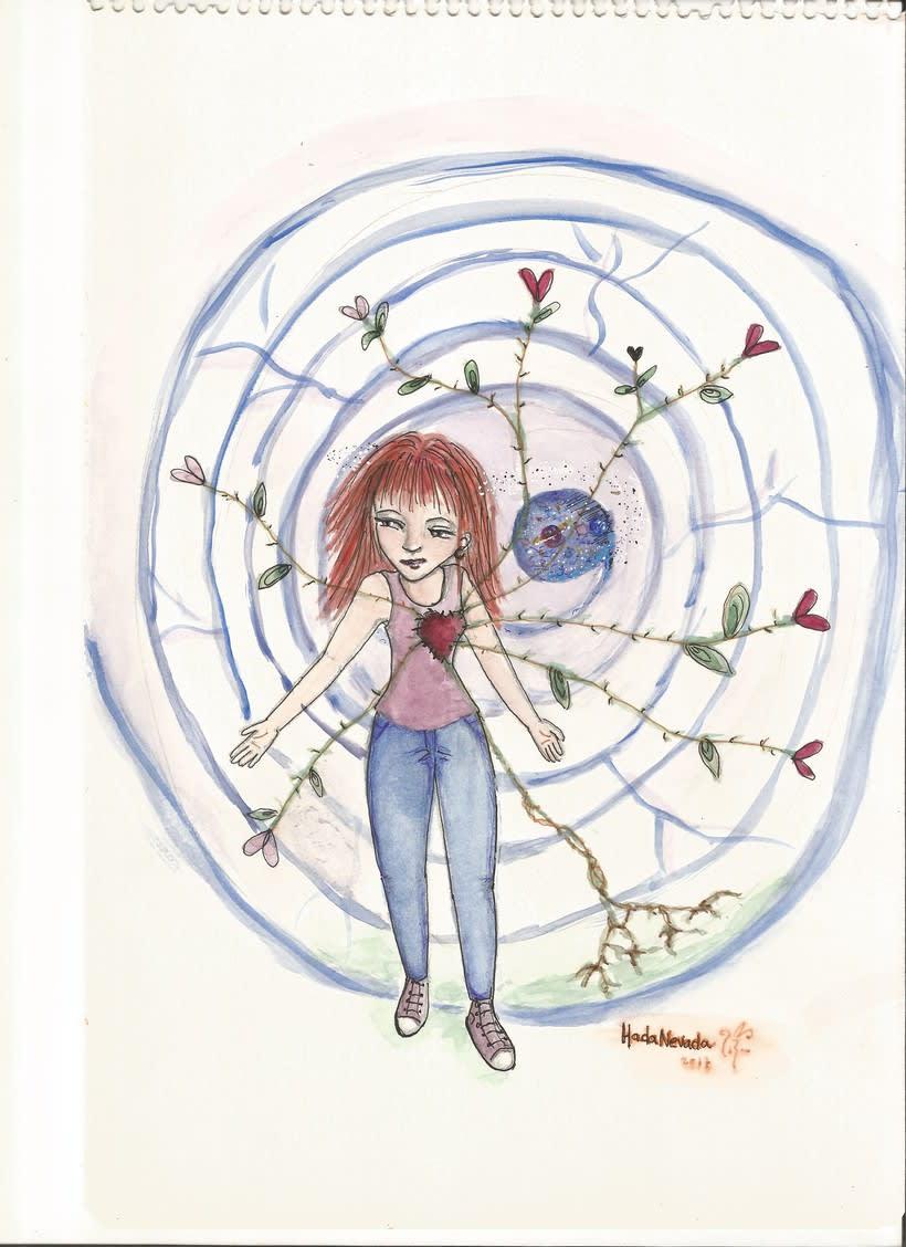 """Autorretrato de mi curso """"Introducción a la ilustración infantil"""" 0"""