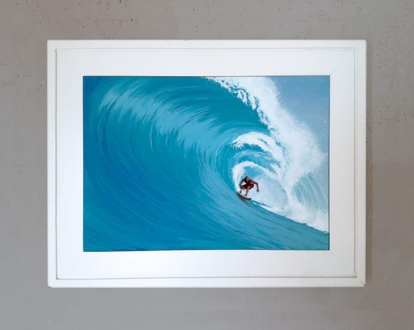 Surfeando ese sueño / Pintura 0