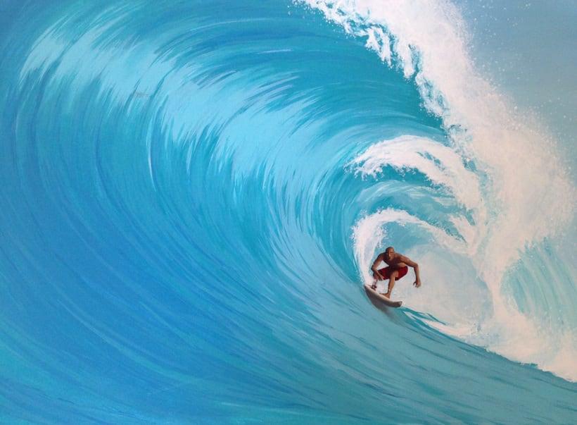 Surfeando ese sueño / Pintura 1