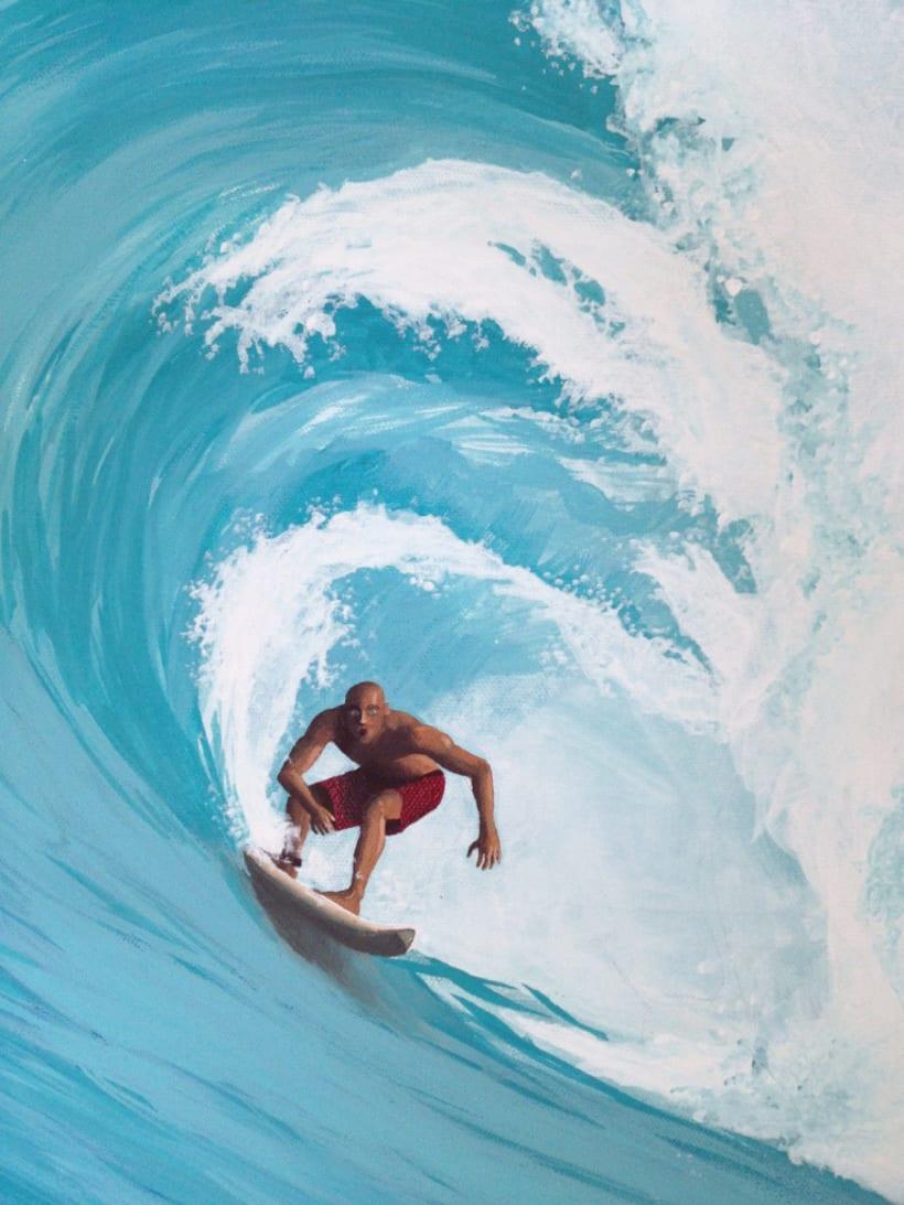 Surfeando ese sueño / Pintura 2