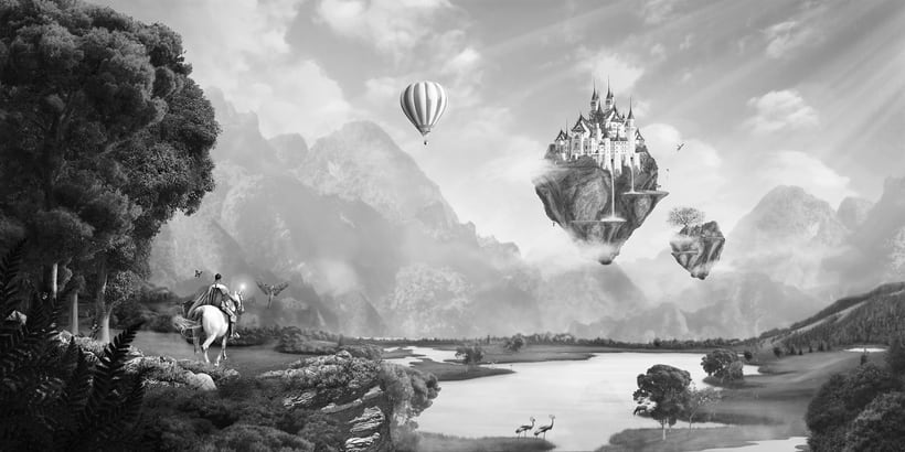 Fairy Tales Matte Painting  6