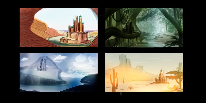 Fairy Tales Matte Painting  2