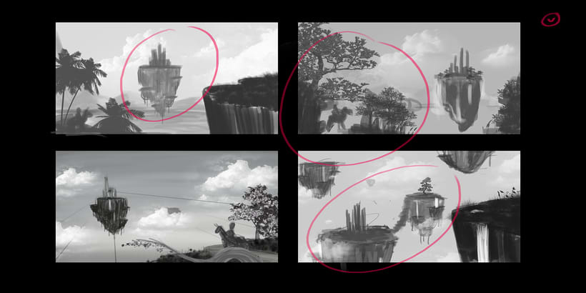 Fairy Tales Matte Painting  3