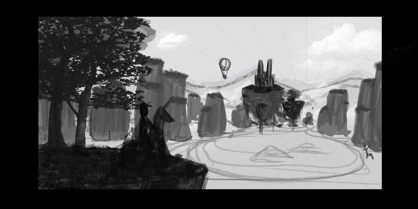 Fairy Tales Matte Painting  4