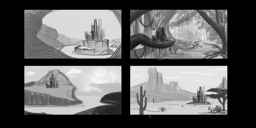 Fairy Tales Matte Painting  1
