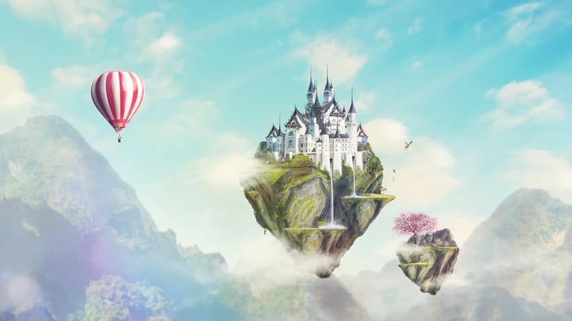 Fairy Tales Matte Painting  7