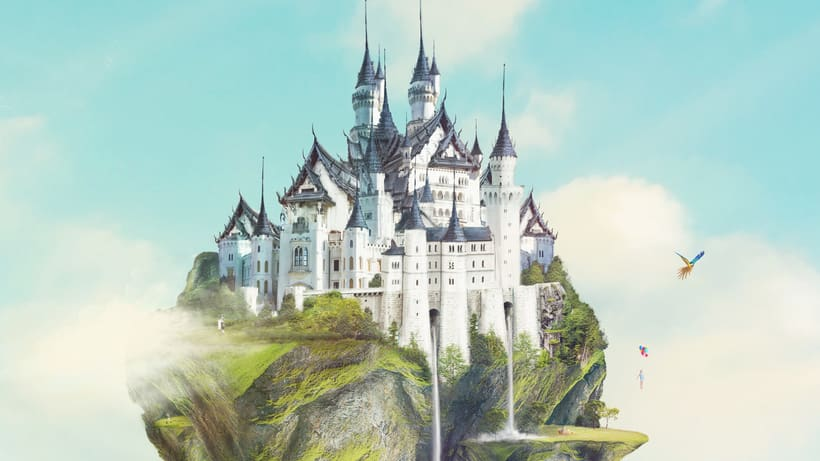 Fairy Tales Matte Painting  8