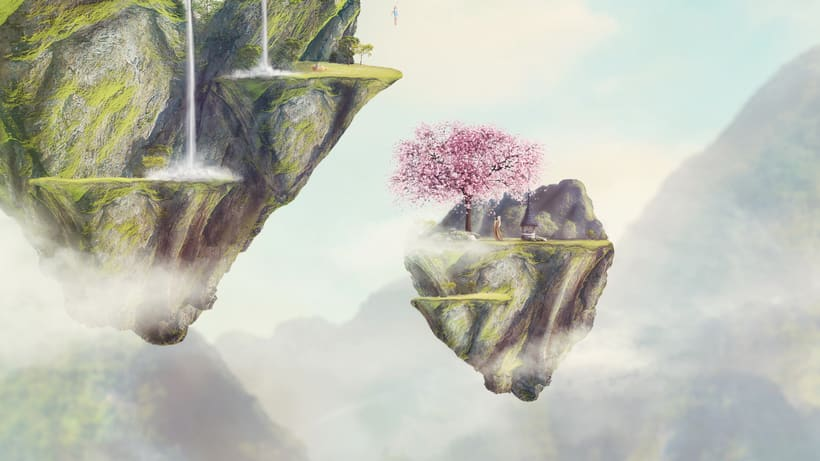 Fairy Tales Matte Painting  9