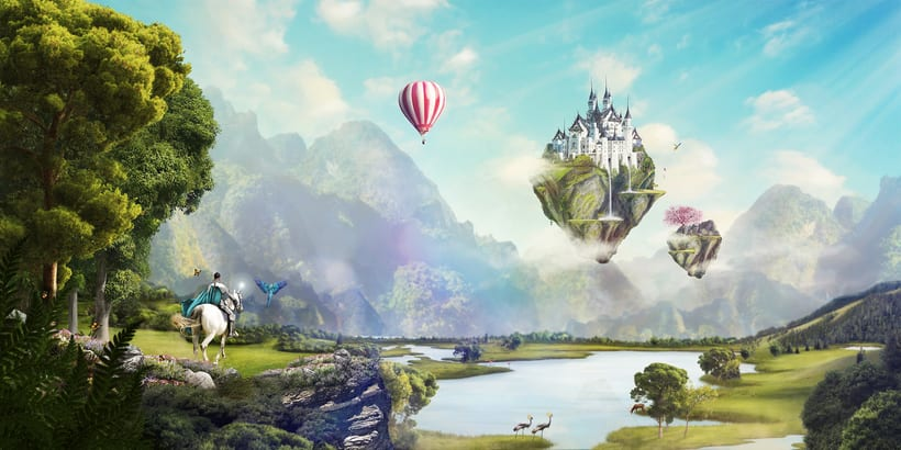 Fairy Tales Matte Painting  0