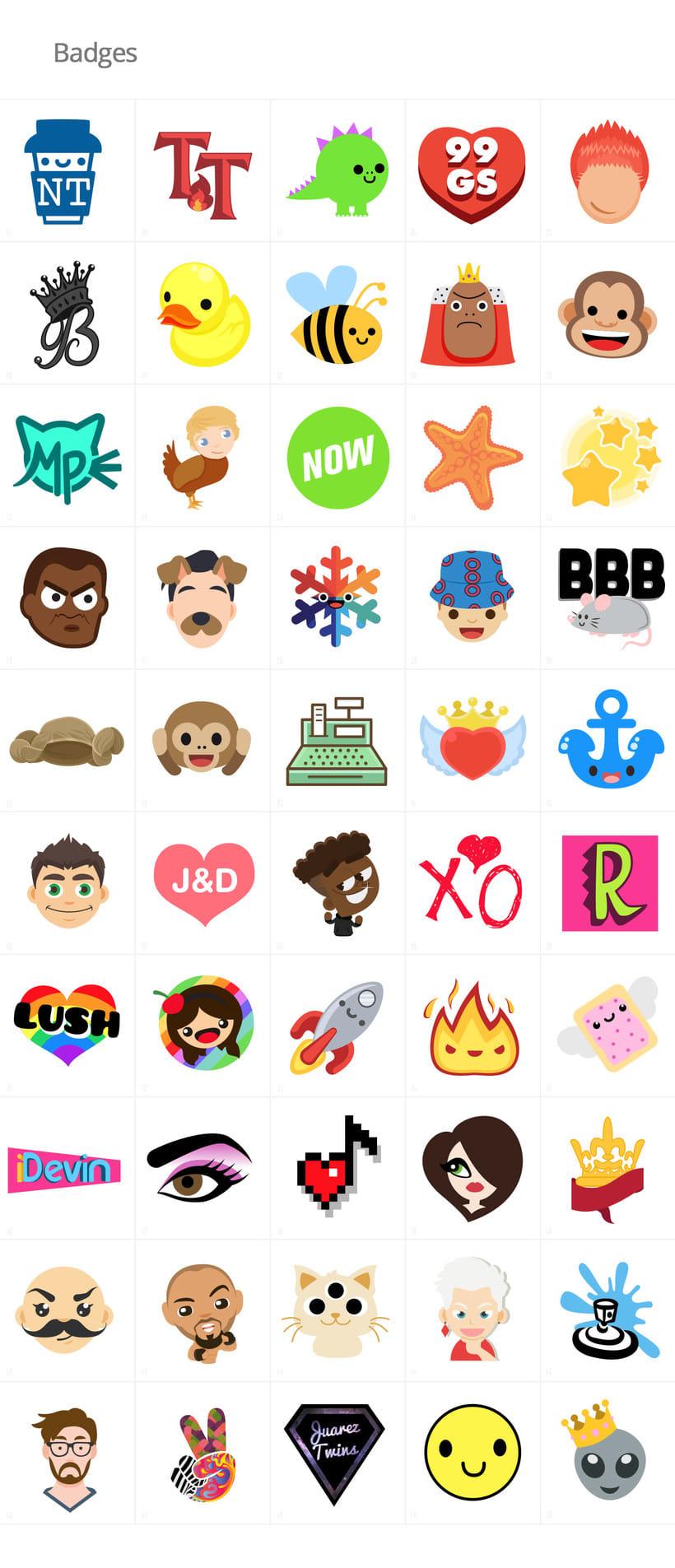Stickers e iconos para YouNow 2