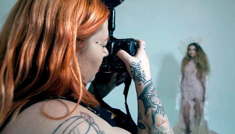 Fotografía de moda con un toque de fantasía de Rebeca Saray 1