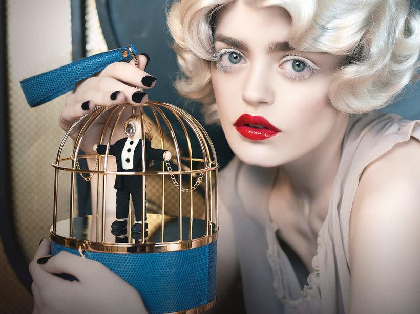 Fotografía de moda con un toque de fantasía de Rebeca Saray 6