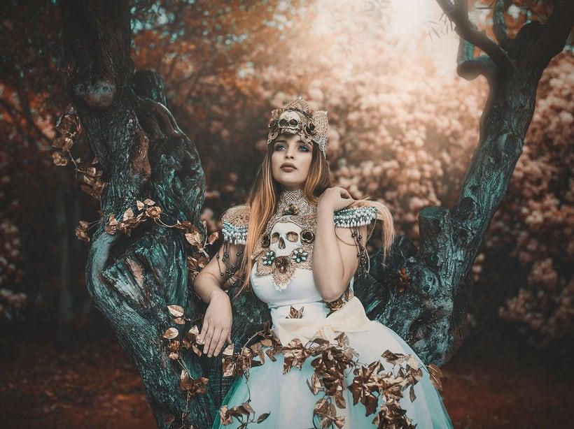 Fotografía de moda con un toque de fantasía de Rebeca Saray 9
