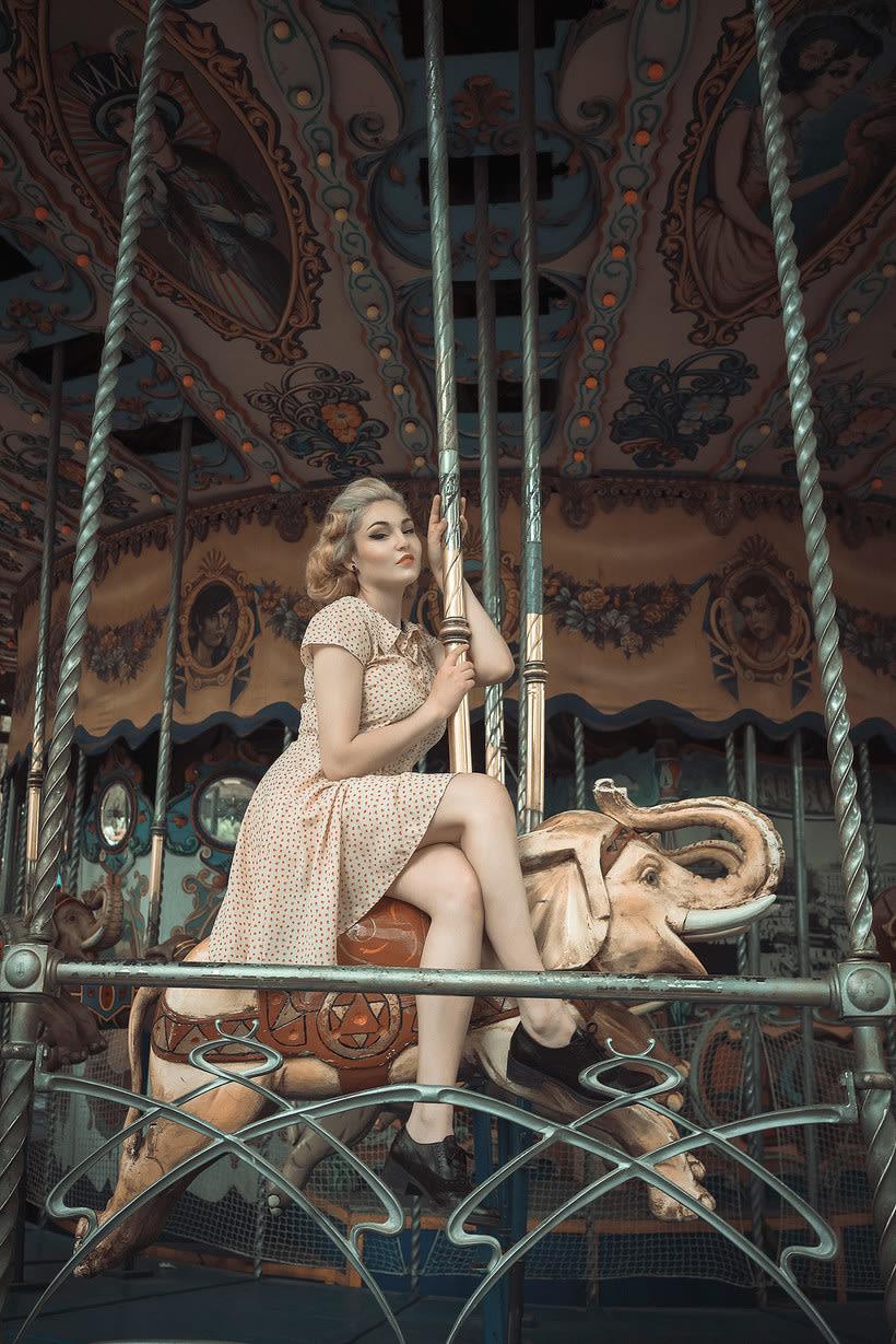Fotografía de moda con un toque de fantasía de Rebeca Saray 11