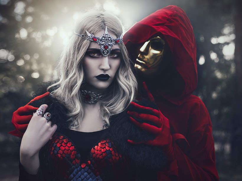 Fotografía de moda con un toque de fantasía de Rebeca Saray 12