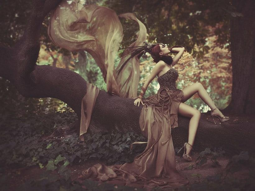 Fotografía de moda con un toque de fantasía de Rebeca Saray 13