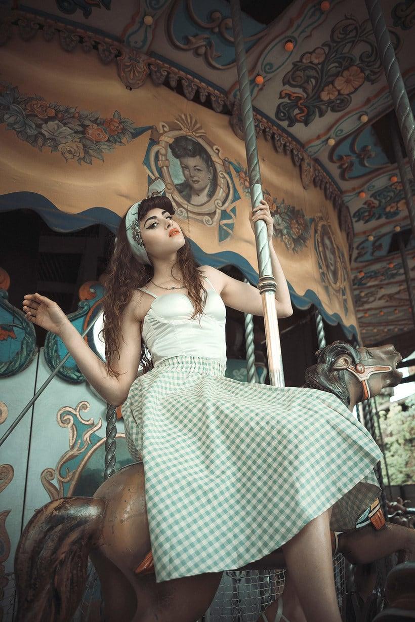 Fotografía de moda con un toque de fantasía de Rebeca Saray 15