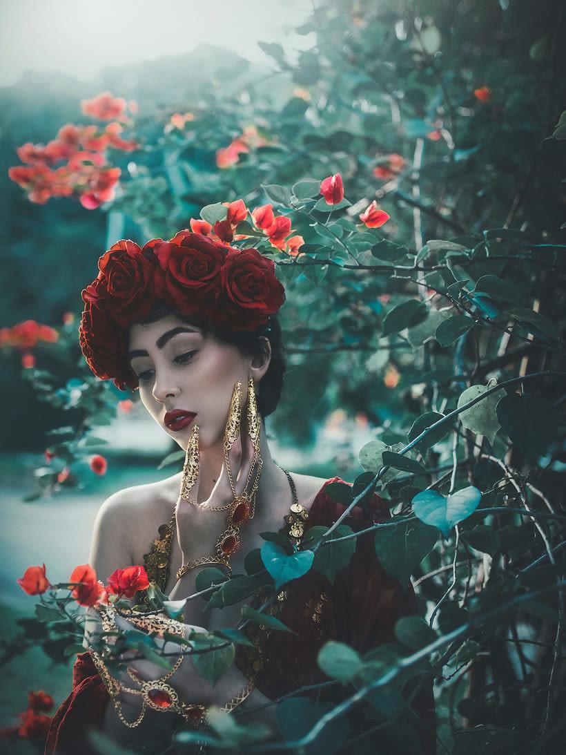 Fotografía de moda con un toque de fantasía de Rebeca Saray 16