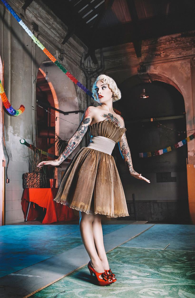 Fotografía de moda con un toque de fantasía de Rebeca Saray 19