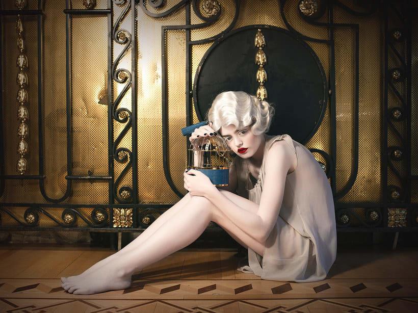 Fotografía de moda con un toque de fantasía de Rebeca Saray 22