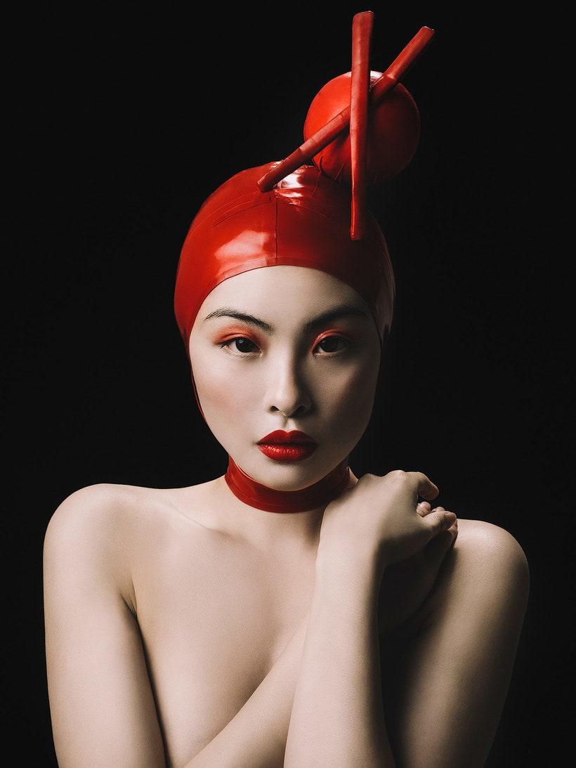 Fotografía de moda con un toque de fantasía de Rebeca Saray 23