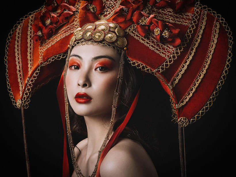 Fotografía de moda con un toque de fantasía de Rebeca Saray 26