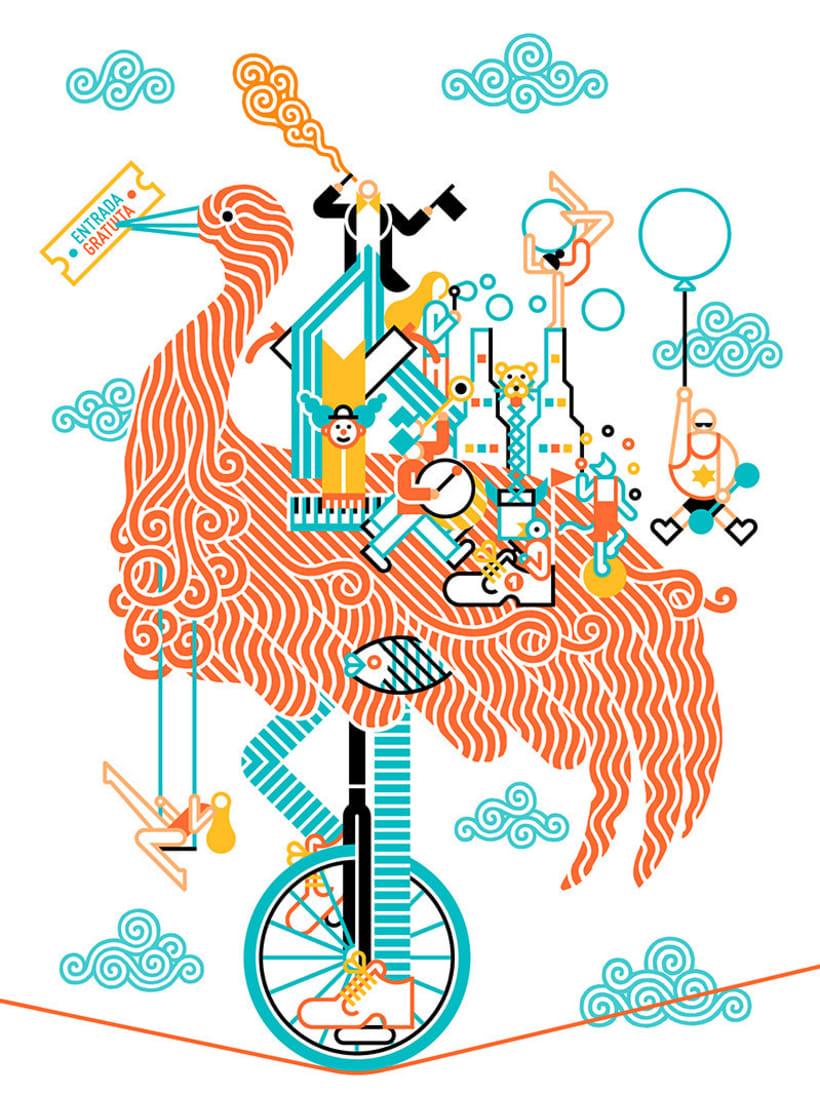 Carlos Arrojo: ilustrando con líneas 1