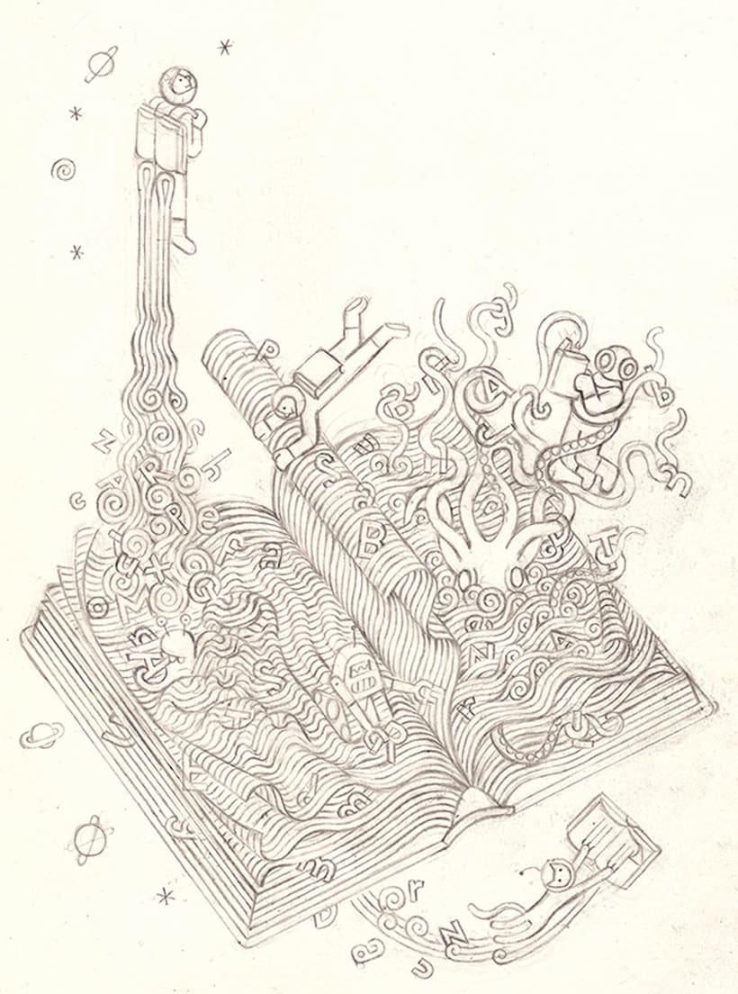 Carlos Arrojo: ilustrando con líneas 10