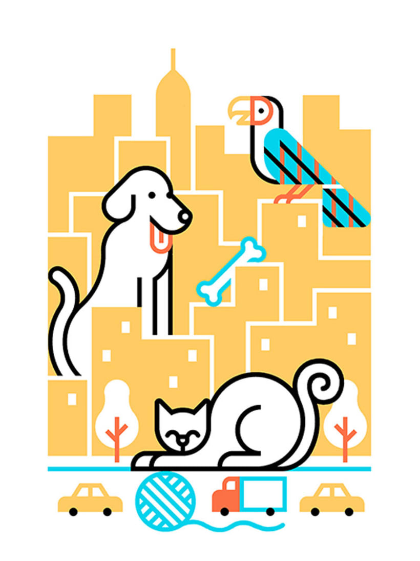 Carlos Arrojo: ilustrando con líneas 11