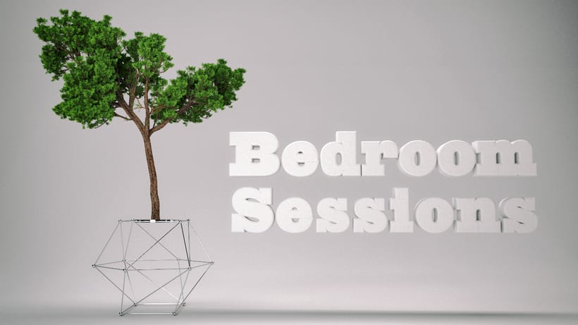 Bedroom Sessions /  3D Renders / music 1
