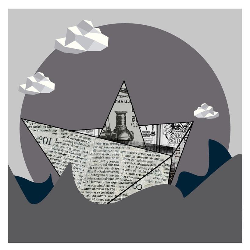Mi Proyecto del curso: La mer en gris, una serie de tres imágenes -1