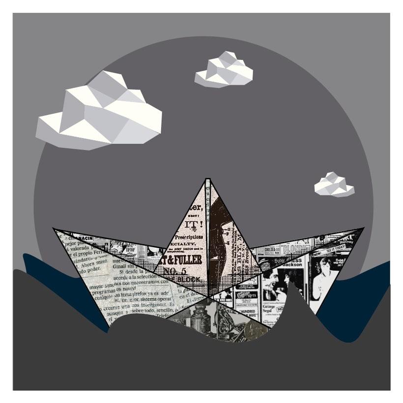 Mi Proyecto del curso: La mer en gris, una serie de tres imágenes 0