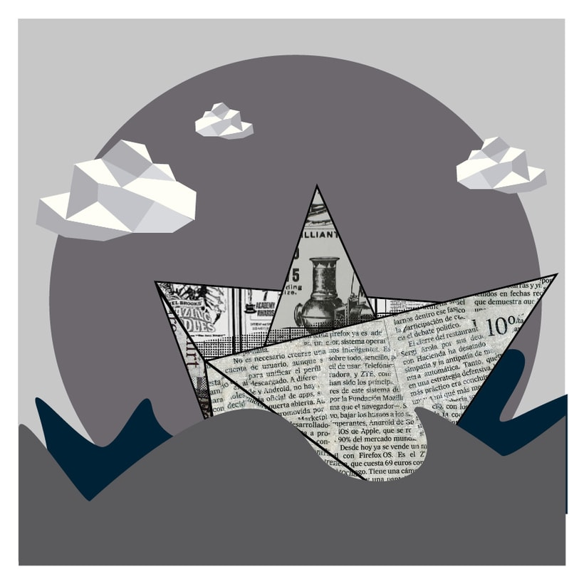 Mi Proyecto del curso: La mer en gris, una serie de tres imágenes 1