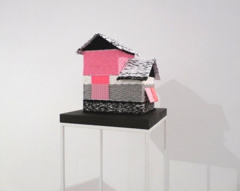CAGES // textil sculptures 0