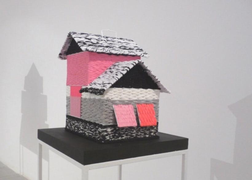 CAGES // textil sculptures 1