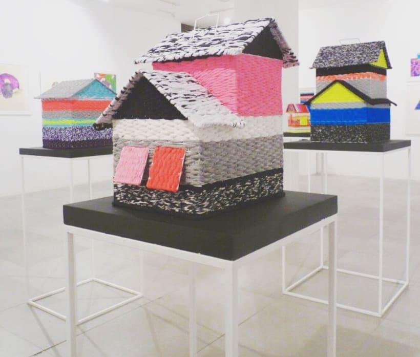 CAGES // textil sculptures 2