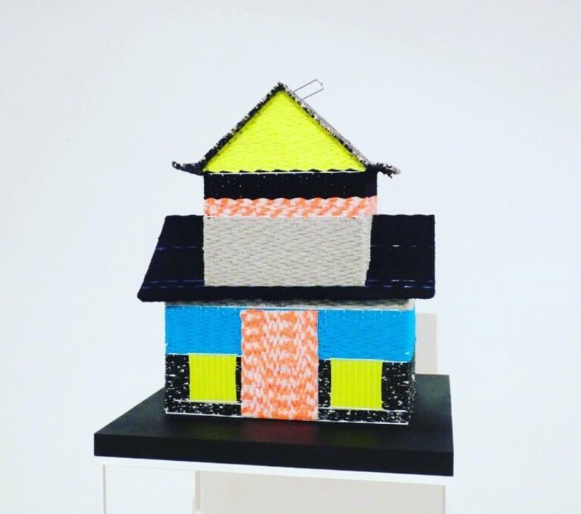CAGES // textil sculptures 4